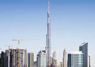 17 produits d'étanchéité pour le plus haut bâtiment du monde